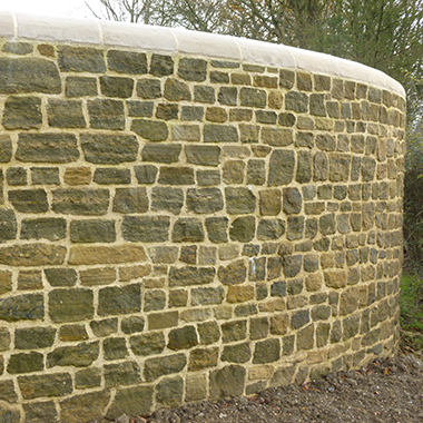 Fittleworth Sawn Backed Walling Stone